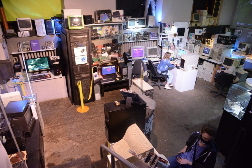 Сервера в музее компьютеров