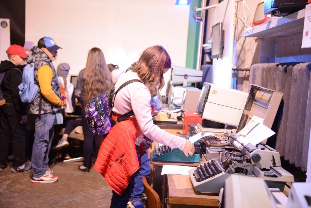 Знакомство с механическими печатными машинами