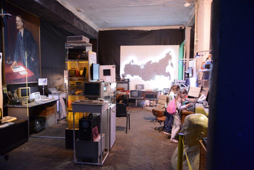 Зал советов в музее компьютеров